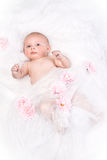 Beautiful Healthy Baby Girl Royalty Free Stock Images