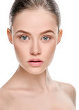 Beautiful healthy face Royalty Free Stock Photography