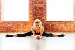 Beautiful healthy fitness woman Stock Image