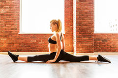 Beautiful healthy fitness woman Stock Photography