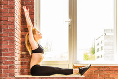 Beautiful healthy fitness woman Royalty Free Stock Photo