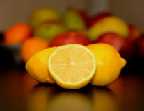 Beautiful healthy fruits. Stock Photography