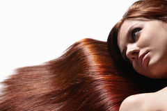 Beautiful healthy hair Royalty Free Stock Image