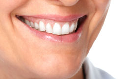 Beautiful healthy smile. Royalty Free Stock Images
