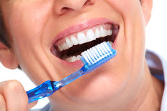 Beautiful healthy smile. Royalty Free Stock Photography