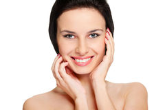 Beautiful healthy woman Royalty Free Stock Photography