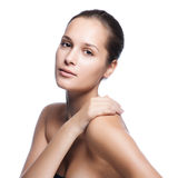 Beautiful Healthy Woman Face Royalty Free Stock Photography