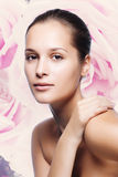 Beautiful Healthy Woman Face Royalty Free Stock Photo