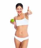 Beautiful healthy woman. Stock Image