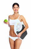 Beautiful healthy woman. Stock Images