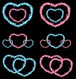 Beautiful heart Stock Image