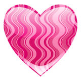 Beautiful heart Stock Images