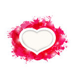 Beautiful heart for card Valentines day Stock Photo