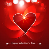Beautiful heart colorful for valentine's day design background Royalty Free Stock Photo
