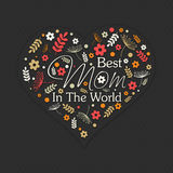 Beautiful heart for Happy Mother's Day celebration. Royalty Free Stock Photos