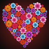 Beautiful heart for holiday Valentine's Day Royalty Free Stock Photo