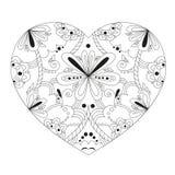Beautiful heart stock illustration