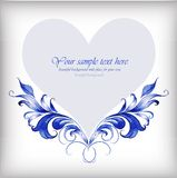 Beautiful heart for Valentines Day background.ΠRoyalty Free Stock Photo
