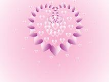 Beautiful hearts Stock Image