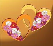 Beautiful hearts Stock Photo