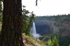 Helmcken Falls in Canada Stock Photo