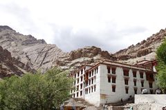 Beautiful Hemis monastery, Leh Royalty Free Stock Photos