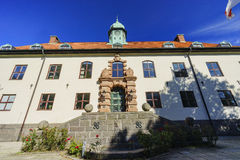 The beautiful high court. Near Malmo Castle of Malmo, Sweden Royalty Free Stock Photography