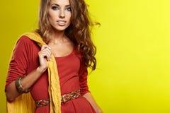 Beautiful high fashion model Royalty Free Stock Photo