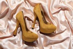 Beautiful high heels Stock Images