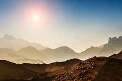 Beautiful high mountains Royalty Free Stock Photography
