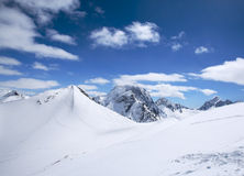 Beautiful high mountains of the Caucasus Stock Photo