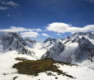 Beautiful high mountains of Caucasus Stock Photography