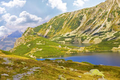Beautiful high mountains view, tatry in poland Royalty Free Stock Images