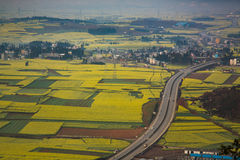 Beautiful highway in China Royalty Free Stock Images
