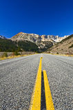 Beautiful Highway. Through mountain landscape Royalty Free Stock Photography