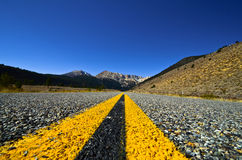 Beautiful Highway. Through mountain landscape Royalty Free Stock Photos