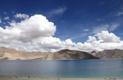 Beautiful Hillocks around pangong lake Royalty Free Stock Image