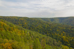 Beautiful hills Stock Image