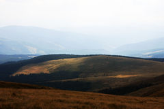 The beautiful hills surrounding Cindrel mountains Royalty Free Stock Photography