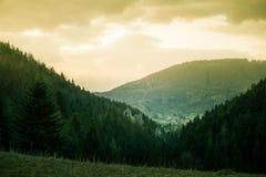 A beautiful hillside scenery of Tatra mountains. Royalty Free Stock Photography