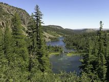 Tributary - Twin Lakes Stock Photo