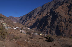 Beautiful Himalayan Locale Stock Photography