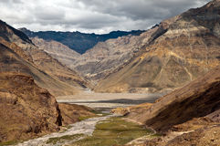 Beautiful himalayan valley Stock Image