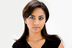 Beautiful Hindi woman Stock Image