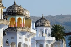 Beautiful hindu architecture of Pushkar,Rajasthan,India Stock Photography