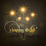 Beautiful hindu diwali festival  art Stock Photography