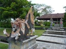 Beautiful hindu statue in Bali island. Royalty Free Stock Photos