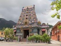 Beautiful Hindu temple attraction Seychelles Stock Image
