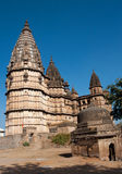 Beautiful hindu Temple in Orchha, India. Royalty Free Stock Images