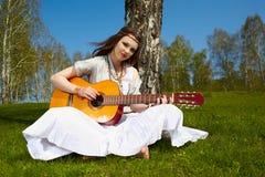 Beautiful hippie girl Stock Image